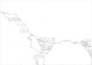 Petra Trenkel: Jardin des plantes I, 2010, Bleistift auf Papier, 35 × 47 cm