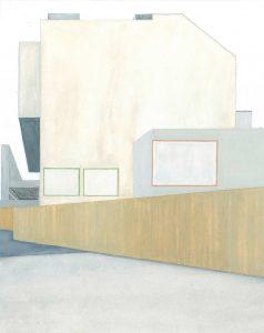 Petra Trenkel: Promenade, 2010, Aquarell auf Papier, 36 × 28 cm