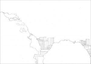 Petra Trenkel:Jardin des plantes I, 2010, Bleistift auf Papier, 35 × 47 cm