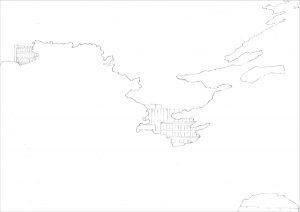 Petra Trenkel: Jardin des plantes II, 2010, Bleistift auf Papier, 35 × 47 cm