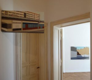 Petra Trenkel: Ausstellungsansicht Galerie Kvant