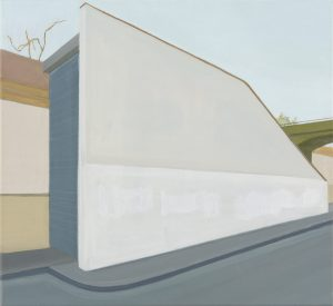 Petra Trenkel: Ufer, 2010, Öl auf Nessel, 50 × 55 cm
